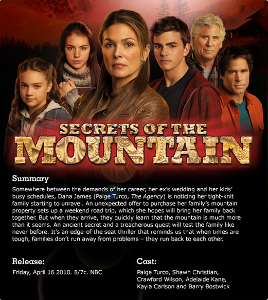 Secrets of the Mountain (2010)